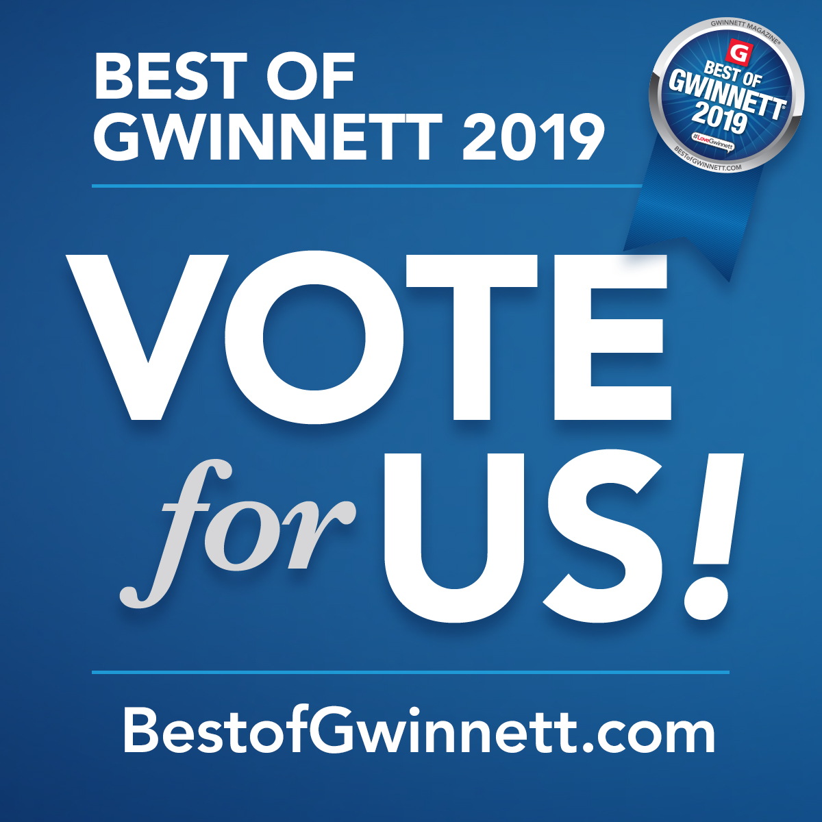 2019 Best of Gwinnett Campaign Kit Instagram