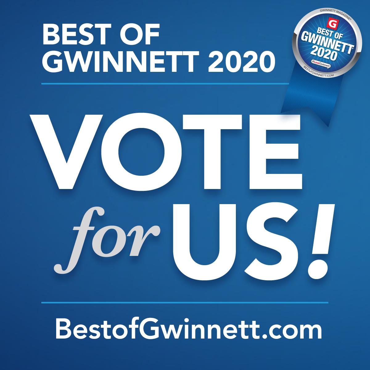 2020 Best of Gwinnett Campaign Kit Instagram