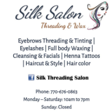 Silk Threading Salon