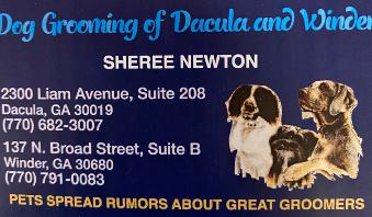 Dacula Dog Grooming
