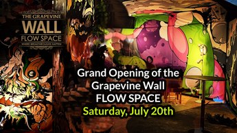 Grand Opening of the Grapevine Wall FLOW SPACE