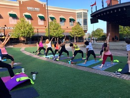 Namaste Nights: Yoga in the Village