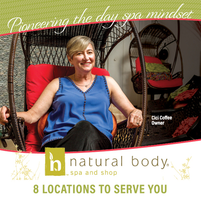 15% Off Any Service at Natural Body Spa & Shop
