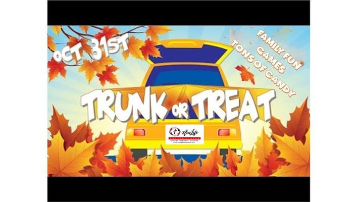 Trunk or Treat Community Event